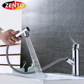 Vòi lavabo nóng lạnh Pulldown Spray ZT2131-C (Dây rút)