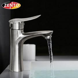 Vòi lavabo nóng lạnh inox 304 Shark Zento SUS3308-1