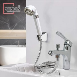 Bộ vòi lavabo kết hợp sen tắm nóng lạnh Zenkin ZK1045