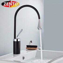 Vòi chậu Lavabo nóng lạnh Art Black ZT2185-B