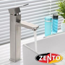 Vòi chậu Lavabo nóng lạnh dương bàn Inox Zento SUS3314