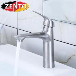 Vòi lavabo nóng lạnh inox 304 Shark Zento SUS3308