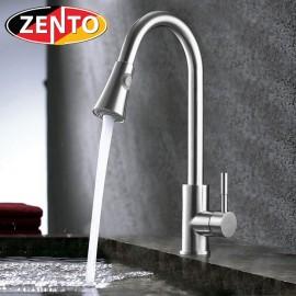 Vòi rửa bát nóng lạnh inox 304 Zento SUS5574 (dây rút)