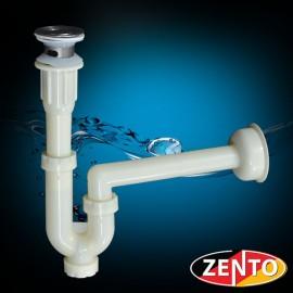 Bộ xi phông & ống xả chậu lavabo Zento XP013