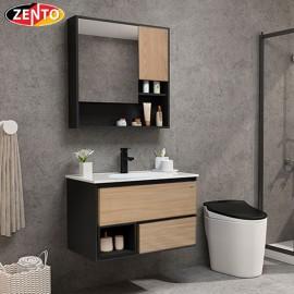 Bộ tủ, chậu, kệ gương Lavabo ZT-LV971C