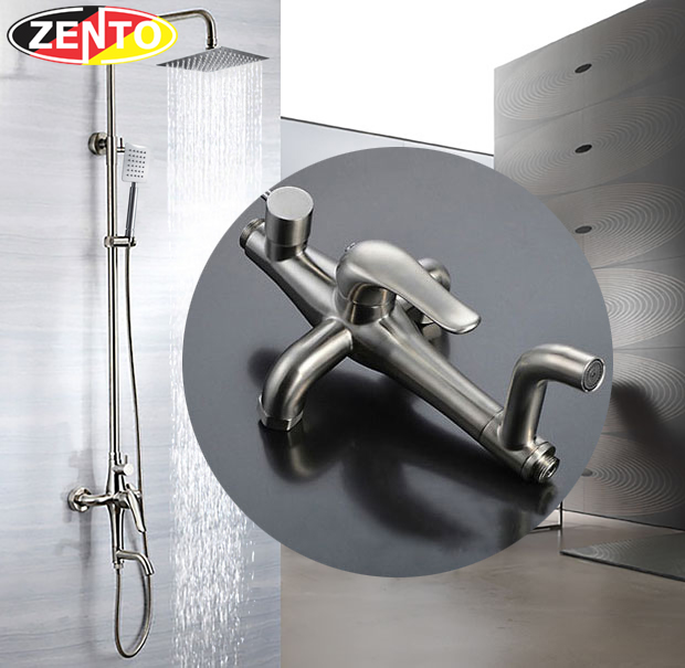 Bộ sen cây nóng lạnh inox Zento SUS8509-1