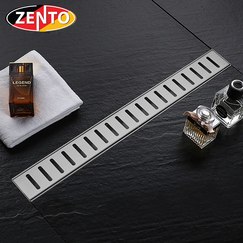 Thoát sàn inox304 Zento ZT758-60 (75x600mm)