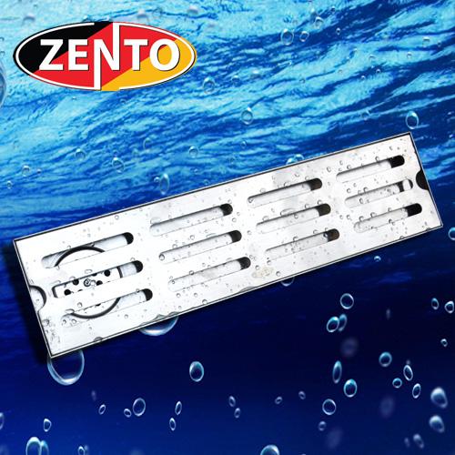 Thoát sàn inox304 Zento ZT551-40 (100x400mm)