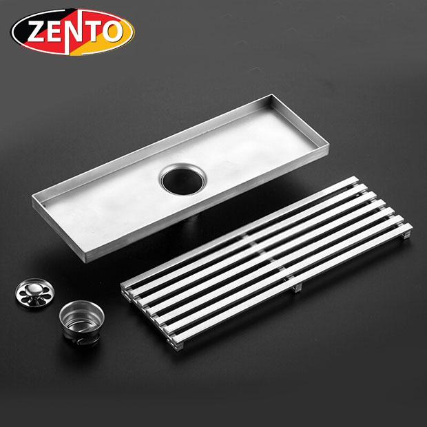 Thoát sàn chống mùi inox304 ZT550-30  (100x300mm)