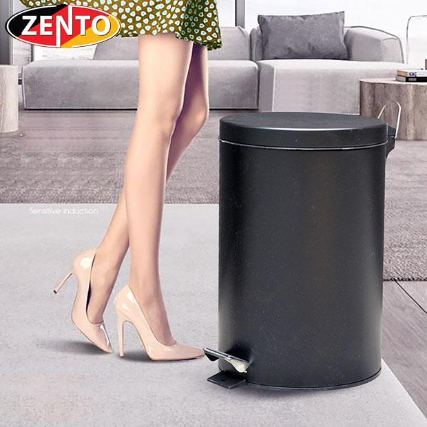 Thùng rác inox đạp chân 20L HC1280-20