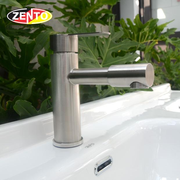 Vòi lavabo nóng lạnh inox304 SUS3311-2 (new)