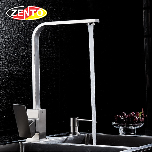 Vòi rửa chén bát nóng lạnh inox304 SUS5580-2EC