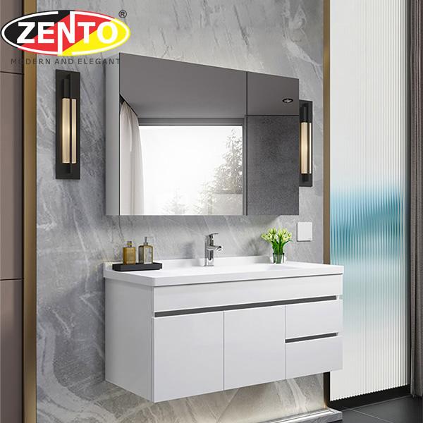 Bộ tủ, chậu, kệ gương Lavabo ZT-LV883E