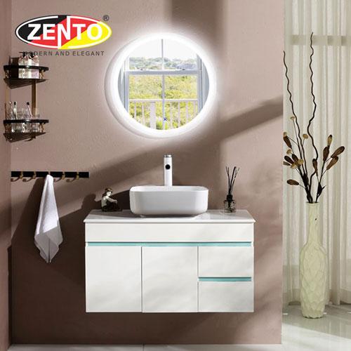 Bộ tủ, chậu, bàn đá, kệ gương lavabo ZT-LV8975