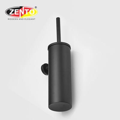 Bộ chổi cọ toilet inox Black series HC6817 (Toilet brush holder)