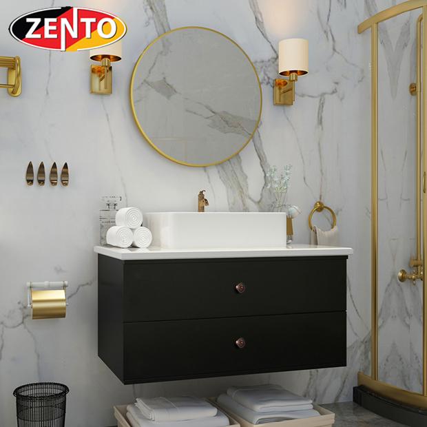 Bộ tủ, chậu, bàn đá, gương Lavabo ZT-LV8981 (cánh Acrylic)