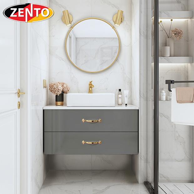 Bộ tủ, chậu, bàn đá, gương Lavabo ZT-LV8980 (cánh Acrylic)