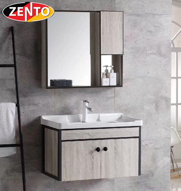Bộ tủ, chậu, kệ gương Lavabo ZT-LV3008