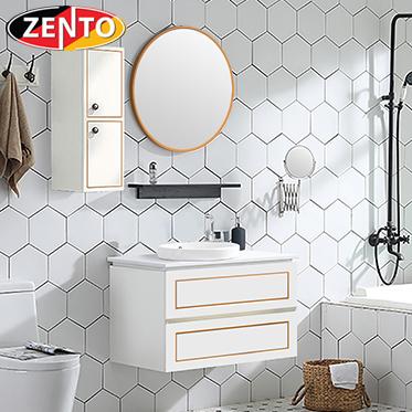 Bộ tủ, chậu, bàn đá, kệ gương Lavabo  ZT-LV894