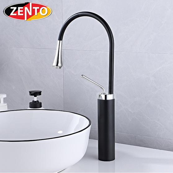 Vòi chậu Lavabo nóng lạnh dương bàn Art Black ZT2195-B