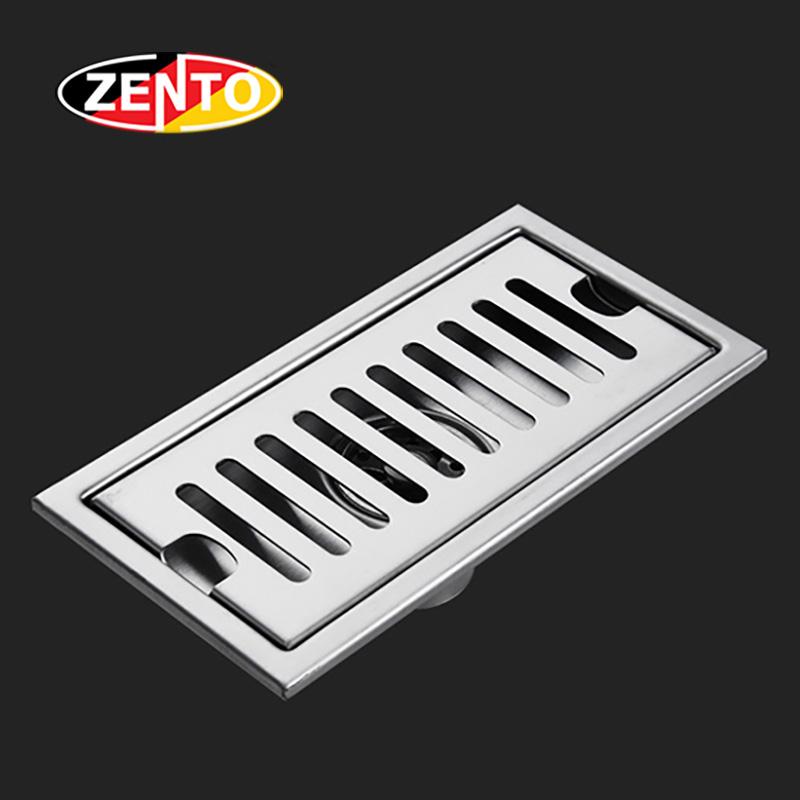 Thoát sàn inox304 Zento ZT451-20 (100x200mm)