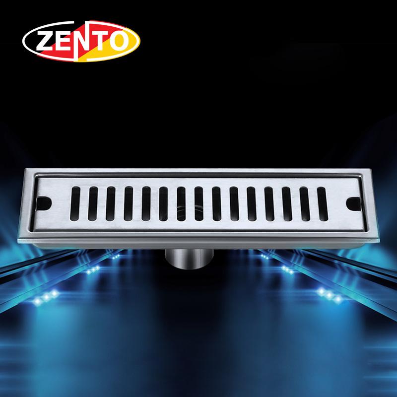 Thoát sàn inox304 Zento ZT451-30 (100x300mm)