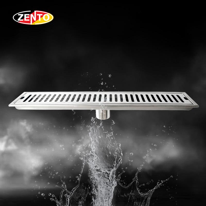 Thoát sàn inox304 Zento ZT451-50 (100x500mm)